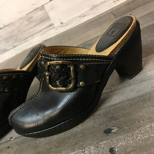 """Frye """"Candice"""" Woven Clog"""